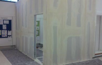 Come montare una parete o soffitto in cartongesso